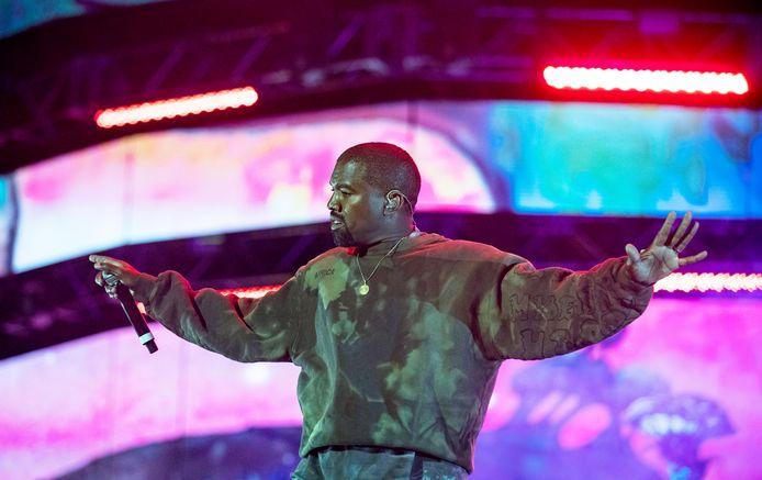 Op de foto: Kanye West.