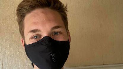 """Tiener roept met hippe actie tot dragen van mondmasker op: """"Veel jongeren tonen goede voorbeeld"""""""