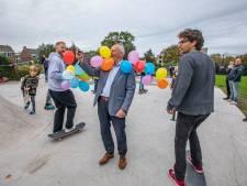 Skatepark aan de Meerkoet in 's-Gravenzande feestelijk geopend met zak patat