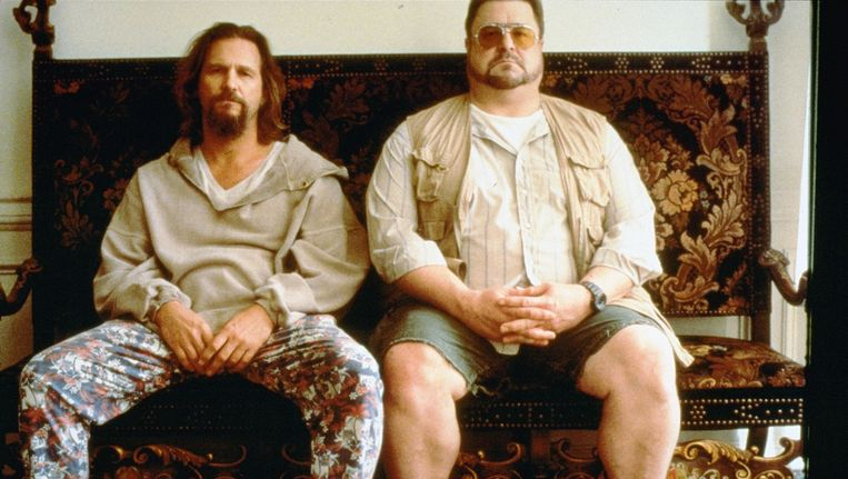 The Dude (Jeff Bridges) en Walter Sobchak (John Goodman). Beeld anp