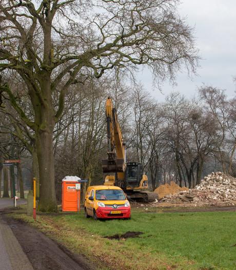 Drie panden tegen de vlakte voor aanleg van randweg in Heeze