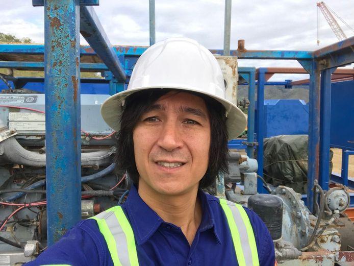 Quentin Lau woont met zijn gezin in Pottsville, 40 kilometer van de dichtstbijzijnde vuurhaard.