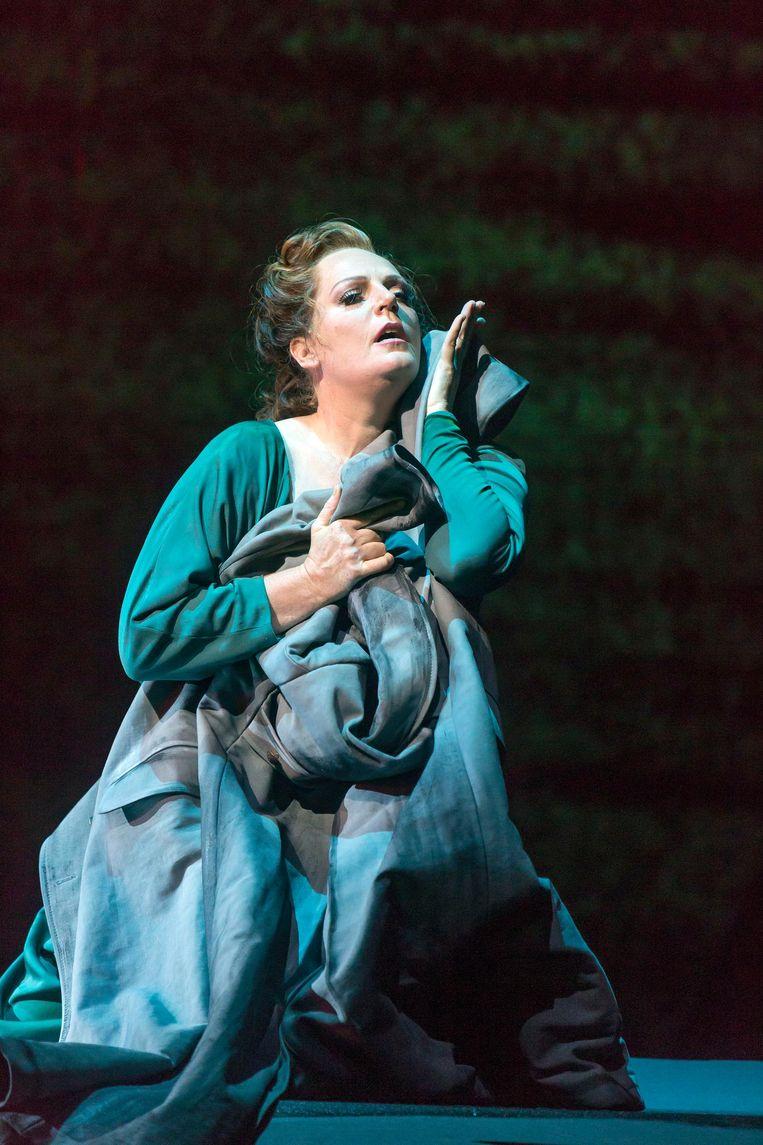 De Nederlandse sopraan Eva-Maria Westbroek. Beeld Hans van den Bogaard