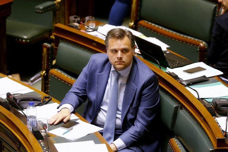 Staatsecretaris Philippe De Backer (Open Vld). Beeld BELGA