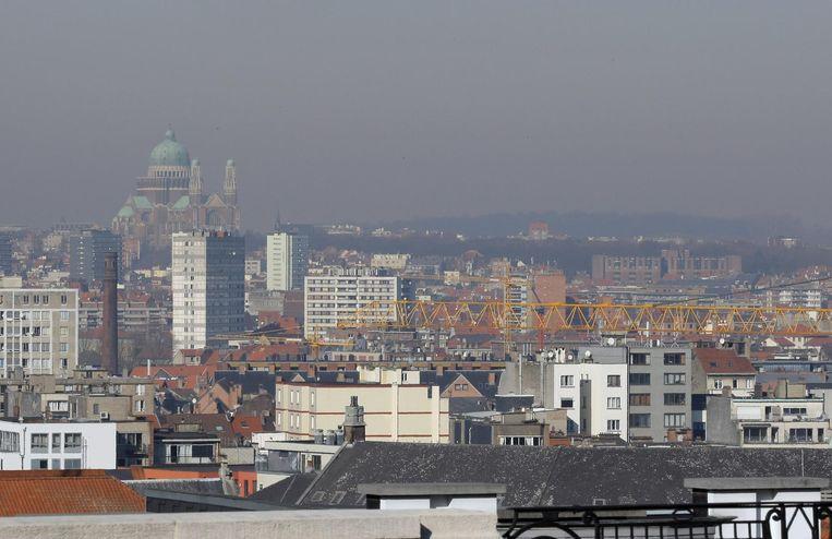 Smog over Brussel Beeld photo_news
