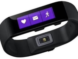 Microsoft lanceert smartwatch Band