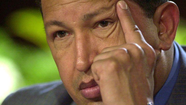 Hugo Chávez in 2004. Beeld AP