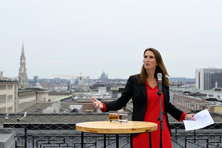 Minister van Buitenlandse Zaken Sophie Wilmès (MR). Beeld Photo News