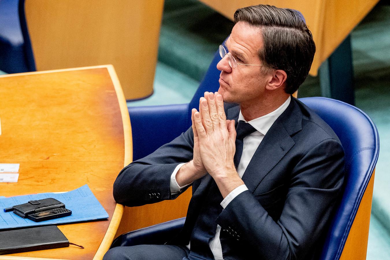 Le Premier ministre néerlandais Mark Rutte