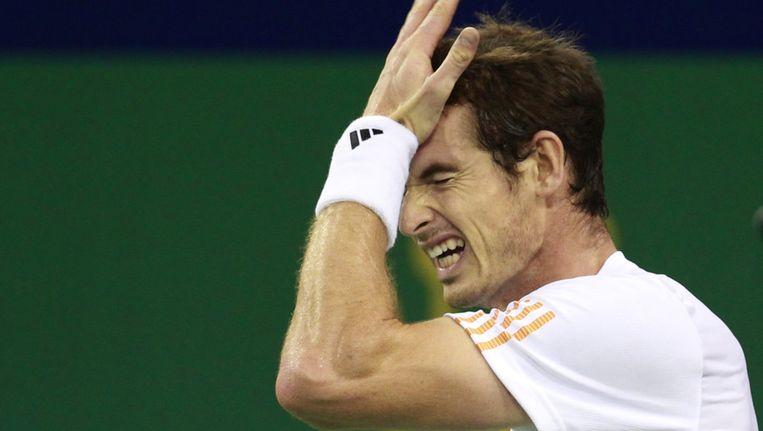 Andy Murray mag de nieuwe ondergrond als eerste testen. Beeld AP