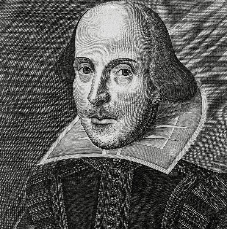 Portret van William Shakespeare. Beeld BELGAIMAGE