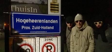 'Postuum' protest tegen provincie Utrecht: plaatsnaamborden vervangen