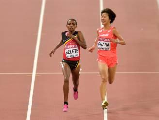 Almensh Belete 21ste op 10.000m, goud voor Cheruiyot