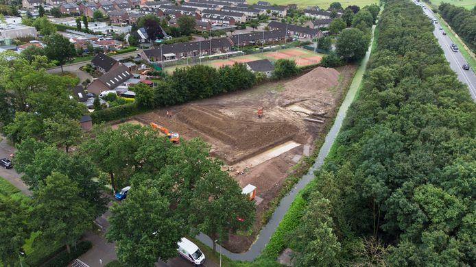 Recent werden opgravingen uit de Romeinse tijd gedaan aan de Nedereindsestraat in Kesteren.