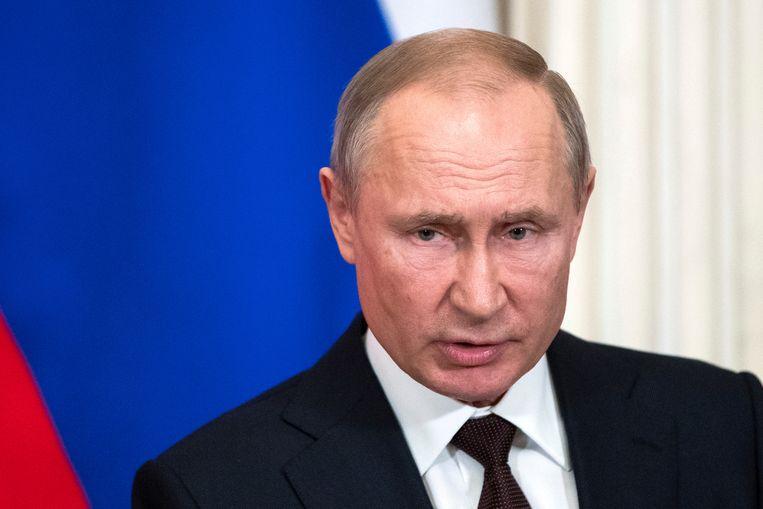 Russisch president Vladimir Poetin. Beeld REUTERS