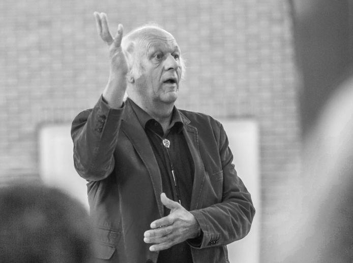 Kaper eind 2014 in actie als dirigent.