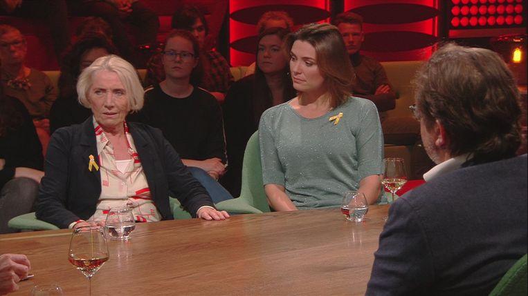 Sien Eggers en Evi Hanssen