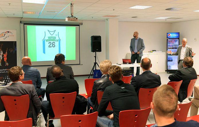 Presentatie van de Dutch Windmills in september vorig jaar.