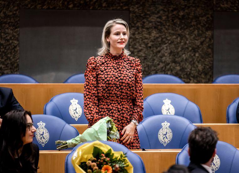 Jeanet van der Laan (D66) zet alles op alles voor een wet tegen 'homogenezing'. Beeld Hollandse Hoogte /  ANP
