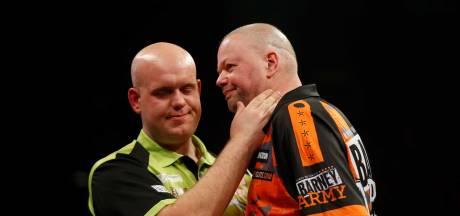 Van Gerwen en Van Barneveld stranden in kwartfinale: Barney imponeert met hoog gemiddelde