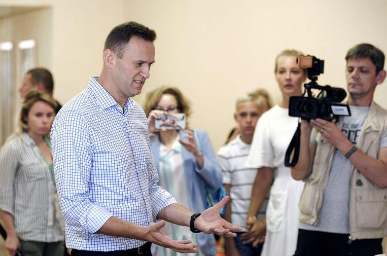 Oppositieleider Aleksei Navalny.