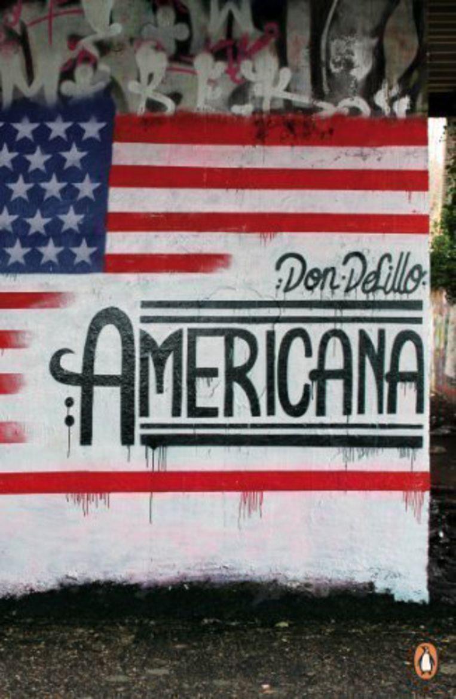 Don Delillo: Americana. Penguin Street Art Edition, 2013. Beeld