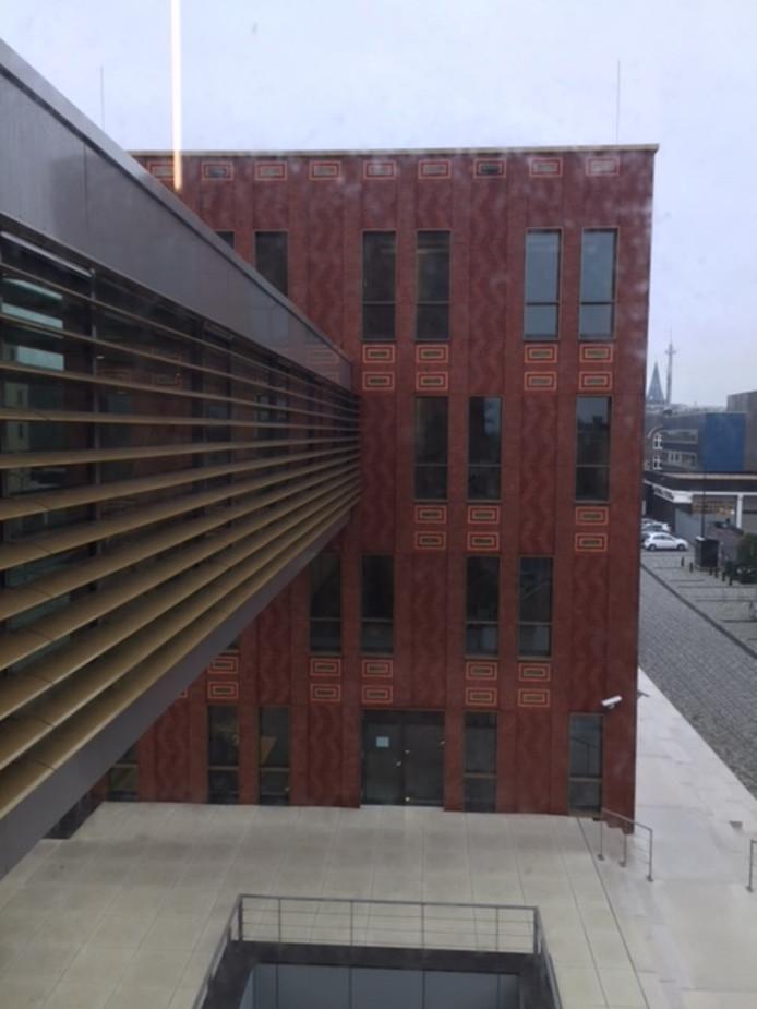 Het betreffende gebouw