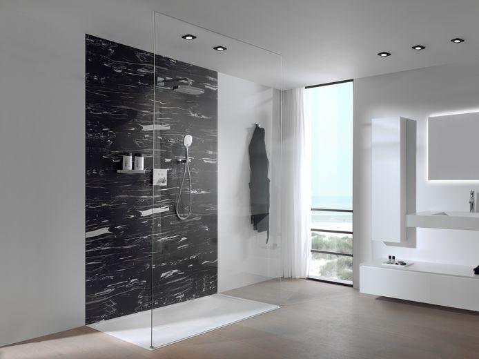 Si vous voulez recouvrir une paroi de douche ou de salle de bains, diverses possibilités s'offrent à vous.