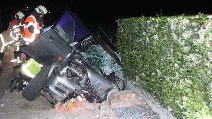 Drie jongeren gewond bij ongeval na avondje Rode Duivels