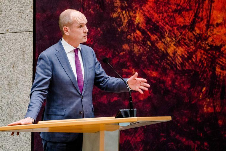Gert-Jan Segers (ChristenUnie) in de Tweede Kamer Beeld ANP