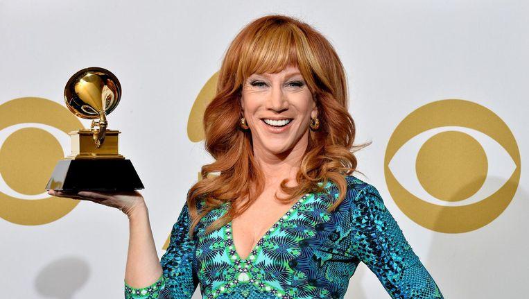 Kathy Griffin won naast twee Emmy Awards ook een Grammy Award voor beste komedie album. Beeld anp