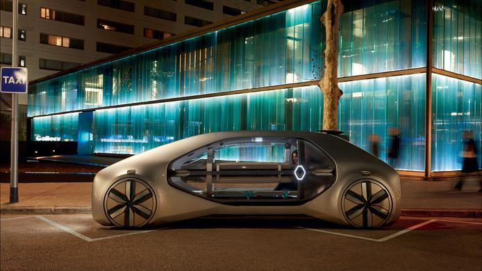 Elektrische Robottaxi Mag Volgens Renault Ook Gewoon Mooi Zijn