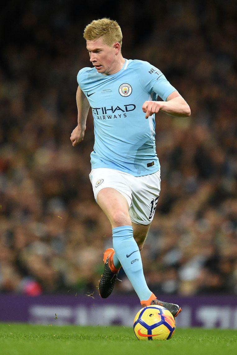 Kevin De Bruyne gaf dit weekend drie assists. Beeld AFP