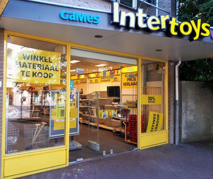 Een zaak van Intertoys in Bennekom.