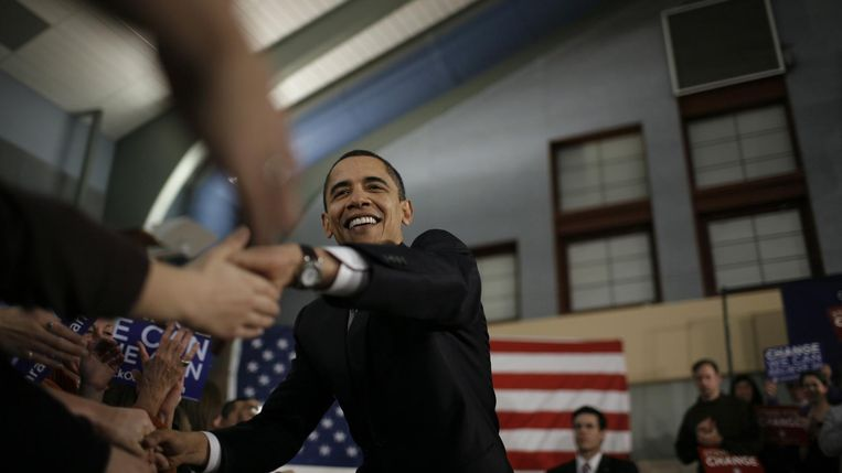 Barack Obama Beeld rv
