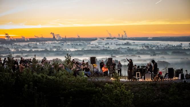 ZIEN. Stijn Meuris geeft uniek concert bij zonsopgang aan Terhills