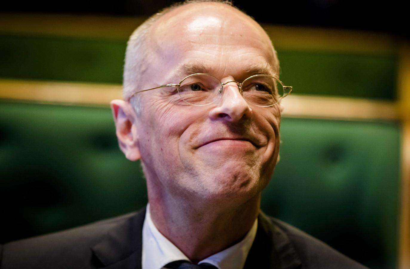 Senaatsvoorzitter Jan Anthonie Bruijn.