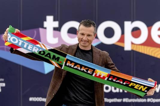 Toernooidirecteur Richard Krajicek