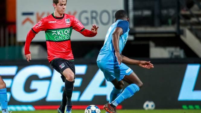 """19-jarige Mathias De Wolf (ex-Club Brugge) groeit na rugoperatie stilaan naar beste vorm bij NEC Nijmegen: """"Klaar om mijn kans te grijpen"""""""