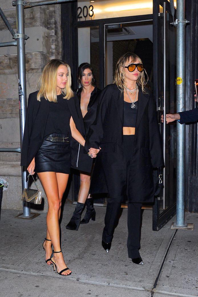 Miley Cyrus et son ex-petite amie Kaitlynn Carter