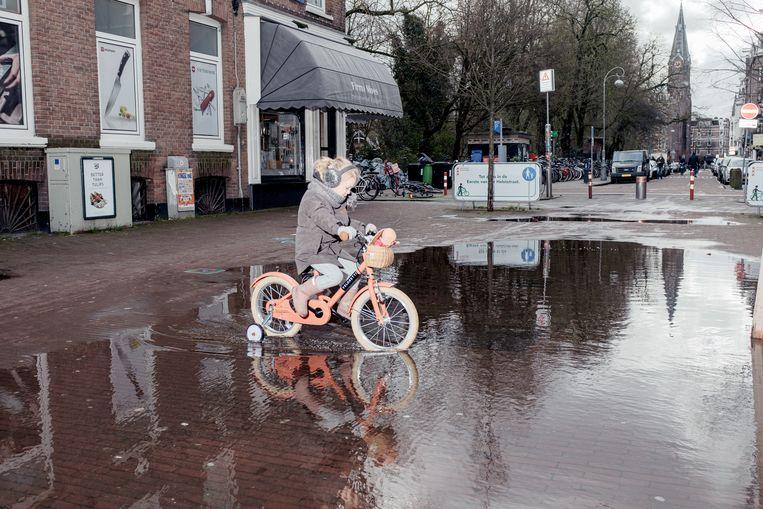 De Eerste Van der Helststraat, De Pijp. Beeld Jakob Van Vliet