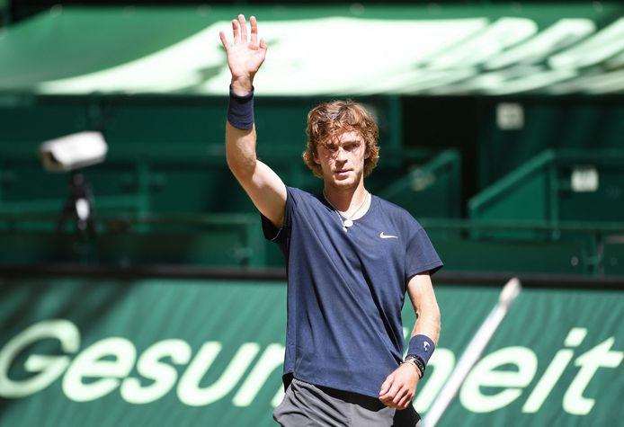 Andrey Rublev monte en puissance à quelques semaines de Wimbledon.