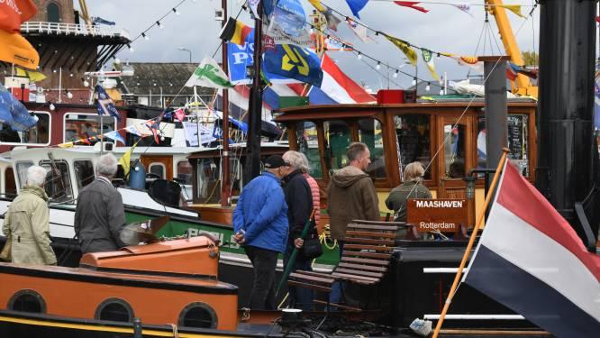 Recordaantal historische schepen komend weekend in haven van Wijk bij Duurstede