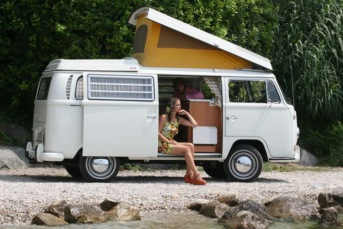 Het origineel van de camper: de klassieke VW T2