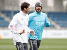 Eden Hazard absent de l'entraînement du Real Madrid lundi