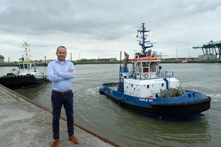 Robert Van Hees van Antwerp Towage.