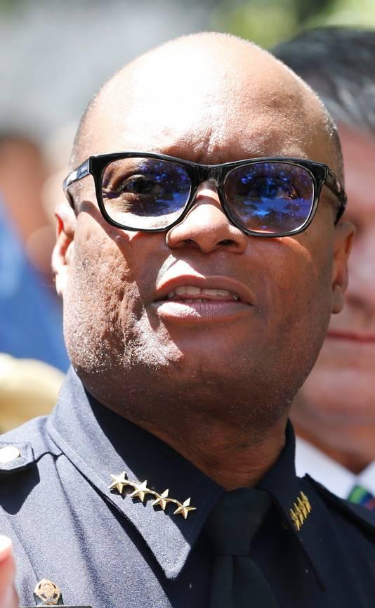 Politiechef David Brown