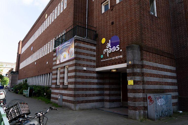 De islamitische basisschool Al Maes, een school in Amsterdam-West die deel uitmaakt van As Siddieq. Beeld Birgit Bijl