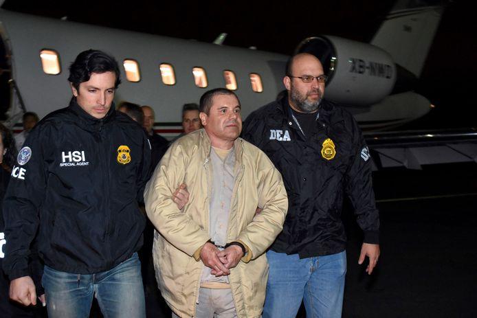 El Chapo in januari 2017.