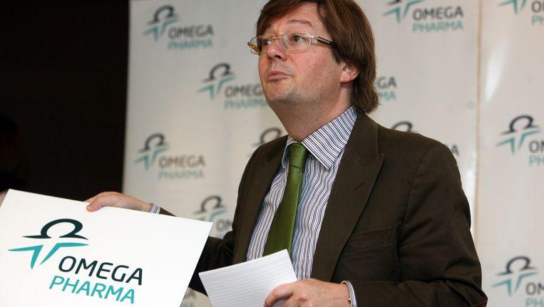 CEO Marc Coucke zou werken aan een operatie van 300 miljoen euro. Beeld BELGA